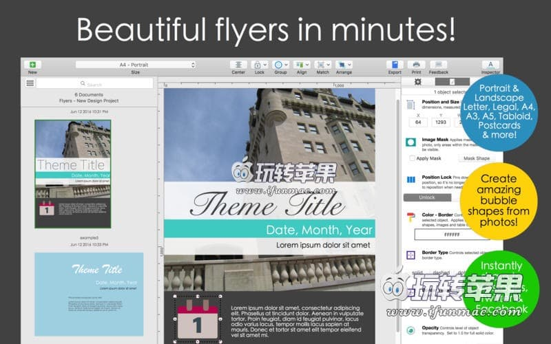 Orion Flyer Maker Pro 截图