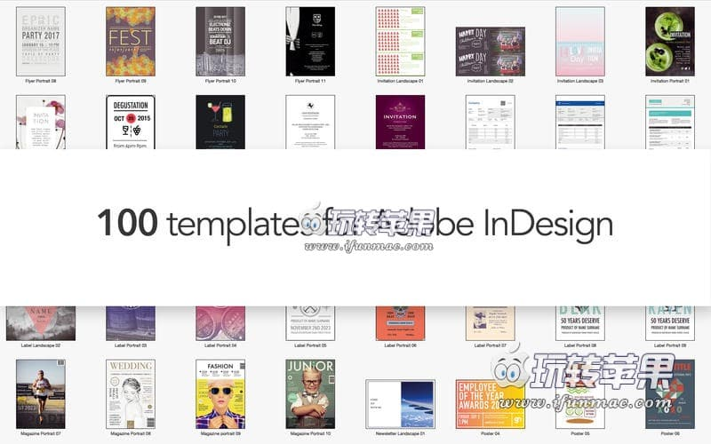 Templates for InDesign 截图