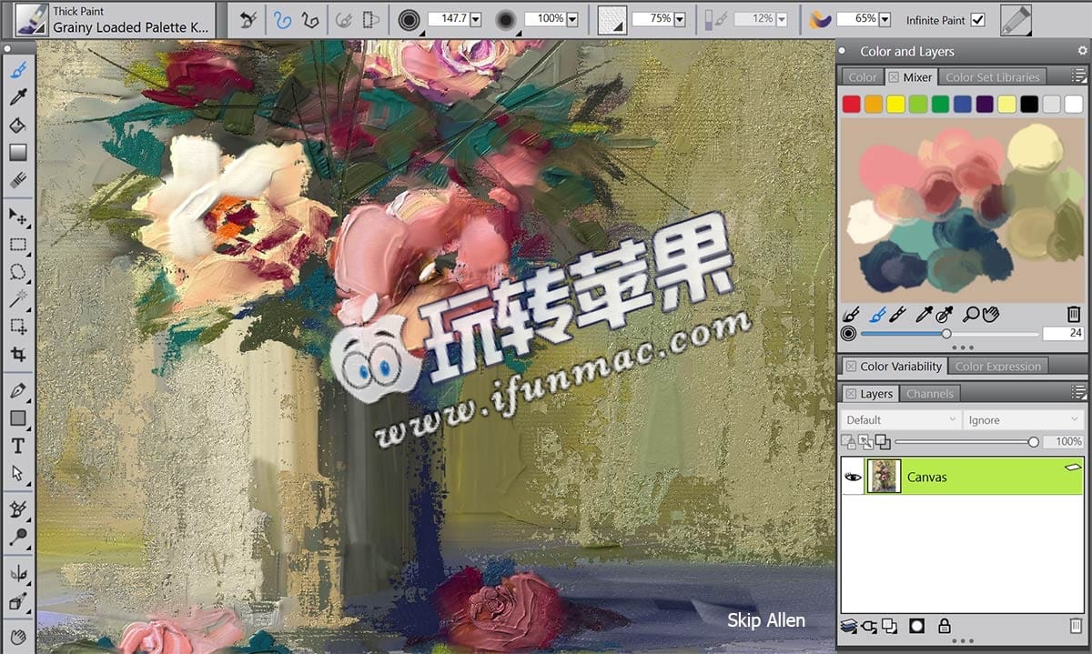 Corel Painter 2017 截图