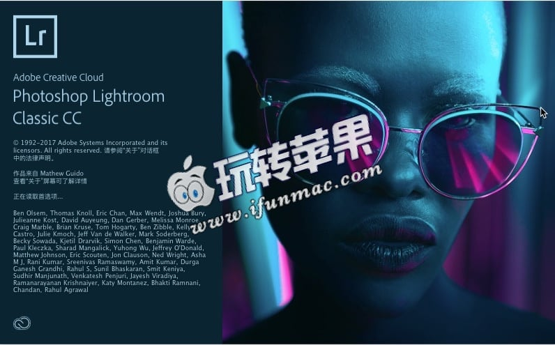 Lightroom CC 2018 截图