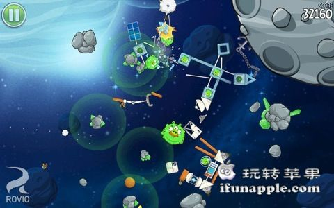 Angry Birds Space 截图