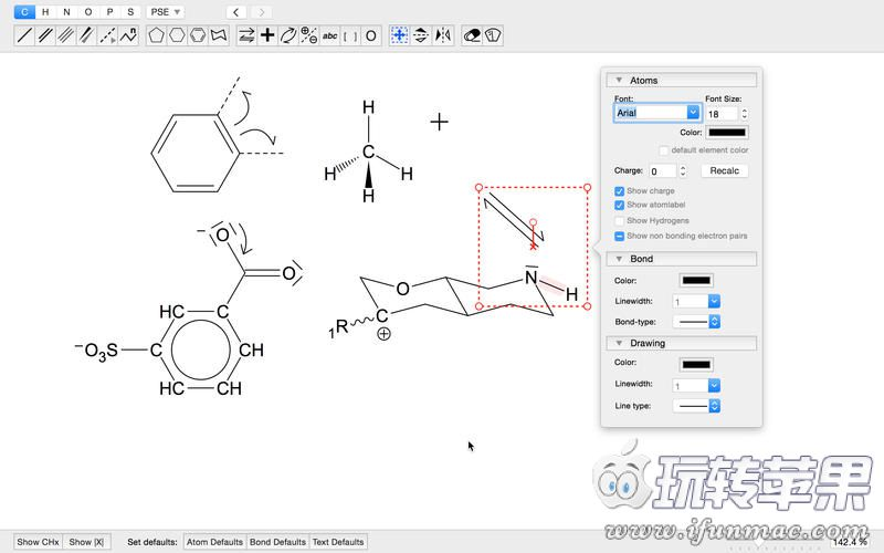 MoleculeSketch 截图